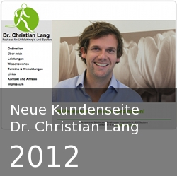 Dr. Christian Lang - Webseite