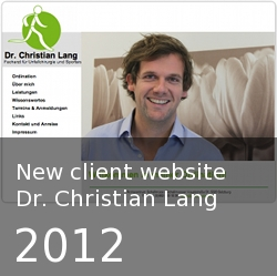 Dr. Christian Lang - website
